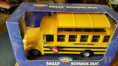 Chevron Cars - Sally The School Bus - New in the box