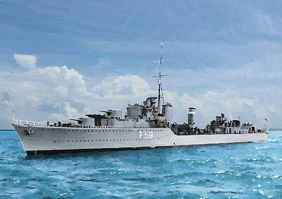 25 Hms Letterston Limited Edition Art