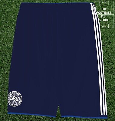 Denmark Away Shorts - Official Adidas Football Shorts - Mens All Sizes