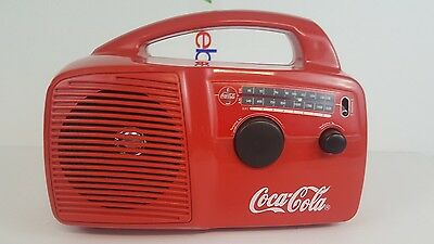 Pre-Owned Free Play COCA COLA Self Powered & Solar Radio