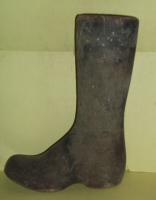 Vintage Wood Wooden  Cobbler Shoe Boot Last Mold -  EJ Factory, Johnson City, NY