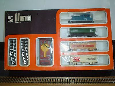 Ho  Gauge Lima Diesel Loco Train Set