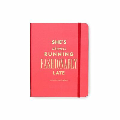Kate Spade New York 2017 - 2018 Medium Agenda - Fashionably Late - FREE SHIPPING