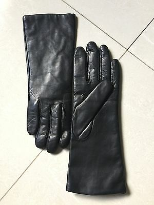 Cashmere-Lined Long Gloves Size 7