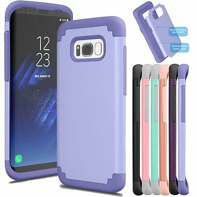 Galaxy S8 Plus S7Edge Case Rubber Impact Shockproof Protective Cover For Samsung
