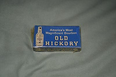 Vintage Old Hickory Bourbon - 5 Straight Safety Razors - NOS Advertising