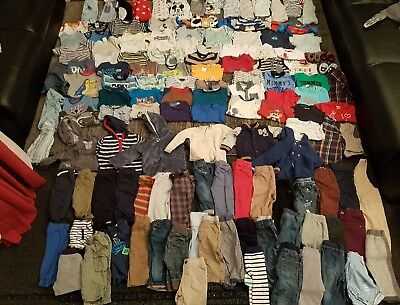 baby boys 6-9 months clothes bundle 140 items