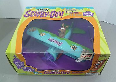SCOOBY DOO Airplane Bump & Go New Vintage Collectible Battery Operated Motor NIB