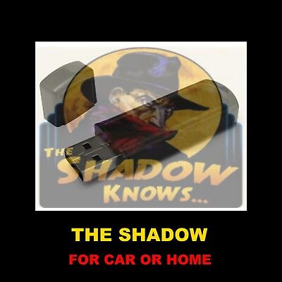 The Shadow. 290 Old Time Radio Shows On A Flash Drive For Car Or Home!