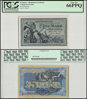 Germany 5 Mark, 1904, P-8a, UNC, PCGS 66 PPQ