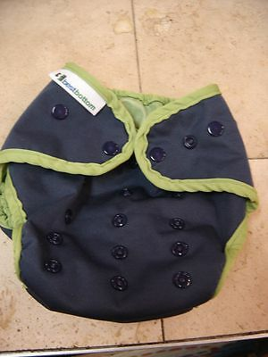 Best Bottom AI2 Snap Cloth Diaper Cover Huckleberry Cobbler