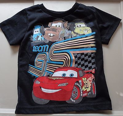 Infants/Toddlers Cars Tee shirt, black, size 18 months