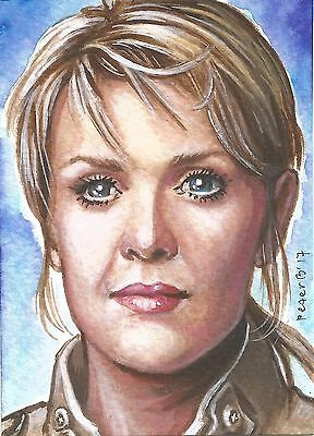 ACEO Sam Carter ~ Stargate SG1 ~ Limited Edition Art Print 1/10