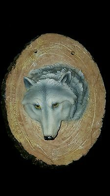 Wolf Wall Plaque