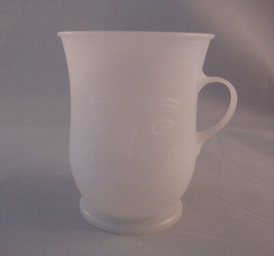 Vintage Kool Aid Smiling Face White Plastic Cup