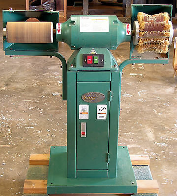 Grizzly, model #G0518 Drum/Flap sander in excellent condition