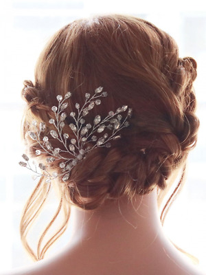 Missgrace Women's Wedding Hair Combs - Bridal Hair Accessories Head Piece Vintag