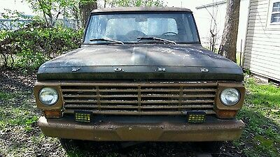 1967 Ford F-100  1967 Ford F100