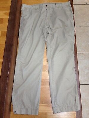 Polo Ralph Lauren Size 40W 32L Beige Zip Up Classic Suffield Pant Chino Trousers