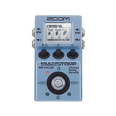 Of ZOOM amazing multi-stomp spatial effects MS-70CDR