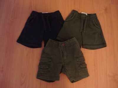 3-pairs Old Navy Baby Boy Shorts - 6 - 12 months