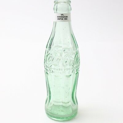 Coca Cola Hobbleskirt Bottle 6 oz Type: Covington, Virginia VA C91 O53