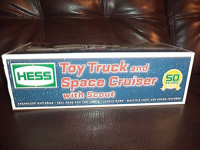 Hess 2014 Toy Truck and Space Cruiser With Scout 50th Anniversary New In Box!