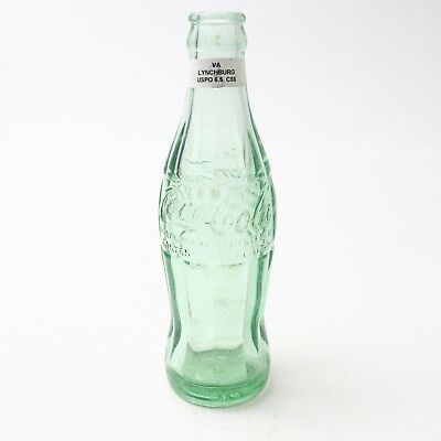 Coca Cola Hobbleskirt Bottle 6.5 oz Type: Lynchburg, Virginia C93 C58