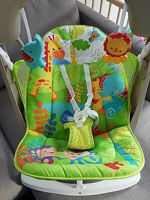Fisher Price Rainforst Friends Swing and Seat