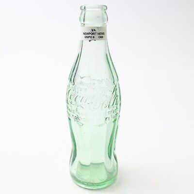 Coca Cola Hobbleskirt Bottle 6 oz Type: Newport News, Virginia C93 O60