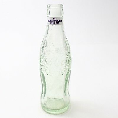 Coca Cola Hobbleskirt Bottle Dec 25, 1923 Type: Charlottesville Virginia C90 G29
