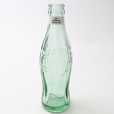 Coca Cola Hobbleskirt Bottle Pat D Type: Urbanna, Virginia VA C96 O51