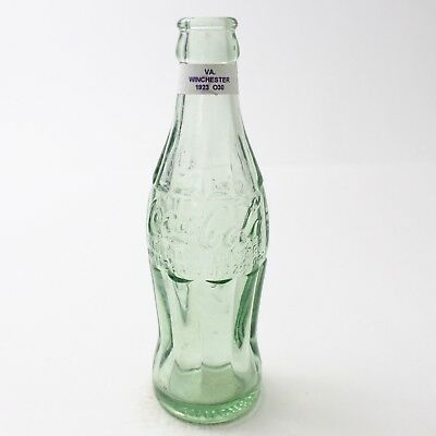 Coca Cola Hobbleskirt Bottle Dec 25, 1923 Type: Winchester, Virginia VA C96 O30