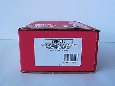 NEW! ROBERTSHAW 790-015 RAM-H4M1-03 24V Hot Surface Ignition Control