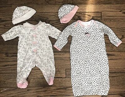 little me baby girl Outfits (lot 2) size 0-3 months