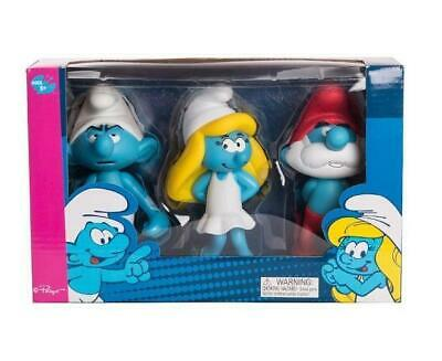 "Smurfs 5.5"" Figurine - Papa Smurf, Smurfette and Clumsy"