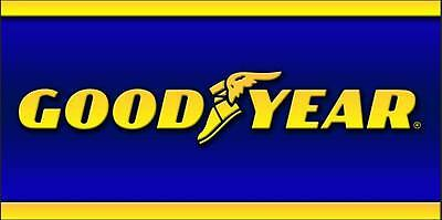 Goodyear Racing Tires Logo Garage Shop Trailer Wall Decor 2x4 Vinyl Banner Sign