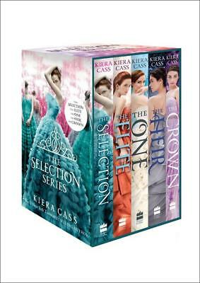 NEW The Selection Series 1-5 By Kiera Cass Paperback Free Shipping