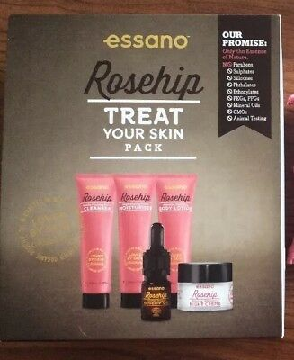 ESSANO Rosehip Treat Your Skin Pack - 5 Products NEW