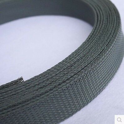 35mm Mix Color 3 weave Expandable Braided PET Sleeving Cable x 1/3/5/10M