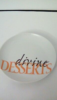 Fitz  and Floyd divine Desserts Plate