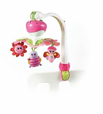 New Baby Crib Mobile Infant Girl Nursery Hanging Musical Activity Toy Soother