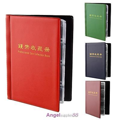 Collecting Money Penny Pockets 180 Holders Collection Storage Coin Album Book