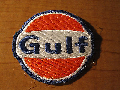 Vintage GULF Gas & Oil Service Station Uniform Cloth Embroidered Patch
