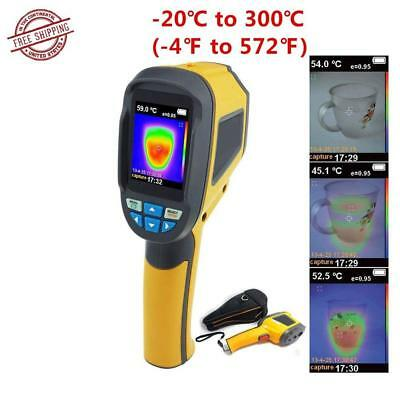 Precision Protable Thermal Imaging Camera Infrared Thermometer Imager HT-02