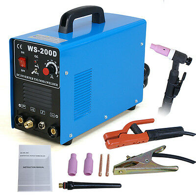 200 Amp TIG MMA ARC DC Inverter Welder 110/220V Dual Voltage Welding New