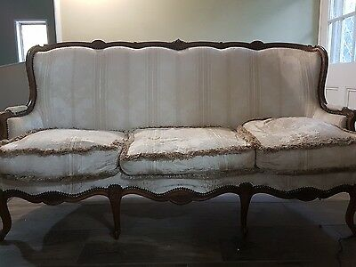 french louis settee sofa lounge couch