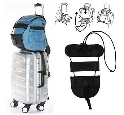 Adjustable Belt Carry Add Bag Strap Travel Luggage Suitcase On Bungee Travel AU