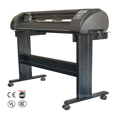 """New 1350mm 53"""" Contour Cutter Plotter Die Vinyl Cutting With AAS +Software"""