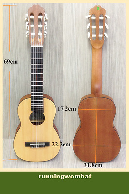 C-28N Tenor Size Guitarlele Natural Matt With Free bag,Picks,Pick Holder